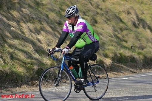 دوچرخه سواری چاق ها