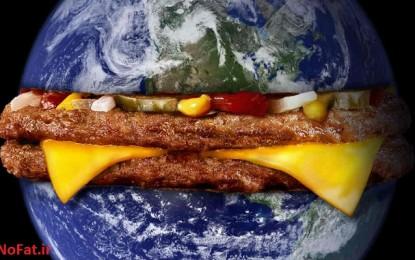 """نقشه """"اضافه وزن"""" مردم دنیا"""