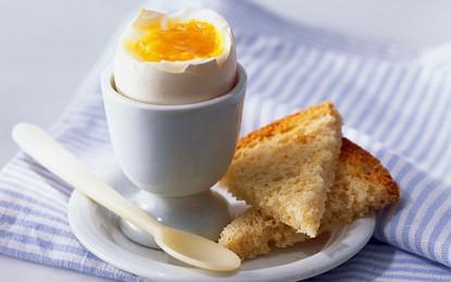 کاهش وزن با خوردن تخم مرغ در صبحانه