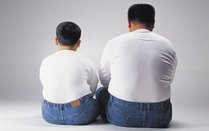 والدین چاق 80 درصد شانس ابتلا به چاقی فرزندان را افزایش میدهند