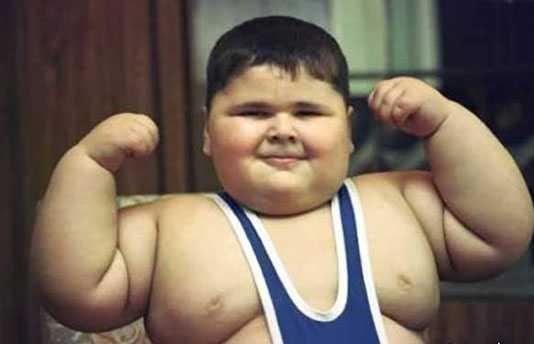 دانش اموز چاق