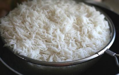 مصرف برنج سفید