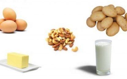 محتویات یک رژیم غذایی سالم