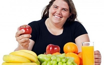 چاقی با میوه