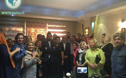 جشن بیماران دکتر هاشمزاده بعد از کاهش وزن (گالری تصویر)